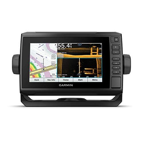 Garmin ECHOMAP UHD 73sv, 7  Keyed-Assist Touchscreen Chartplotter with U.S. LakeVü g3