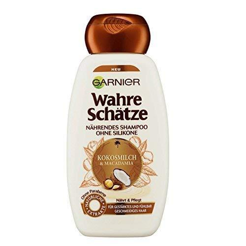 Garnier True Schätze, Nutriente Shampoo Latte Cocco & madamia (6x250ml)