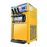 H.Slay SHKUU 1200W máquina de Helado de Servicio Suave Comercial de Escritorio máquina de Helado Suave máquina de fabricación de Helado de Tres Colores