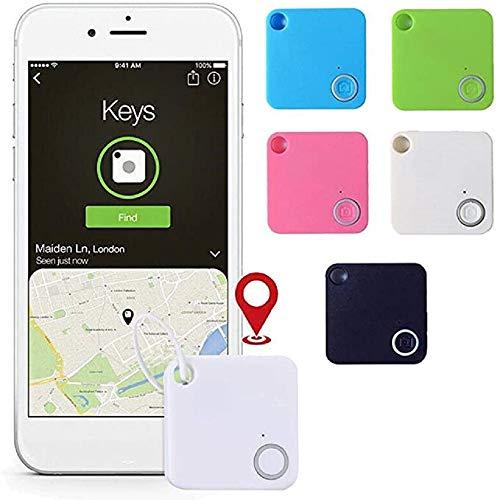 VARWANEO Smart Tracker Mini Bluetooth Anti-Lost Theft Device Alarm Pet Child Anti-Lost Locator Tracker 1Pcs
