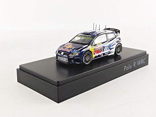 Volkswagen Coche Modelo Mikkelsen/Floene a Escala 1: 43 6° C1099300°C, Polo R WRC