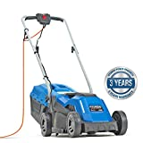 Hyundai HYM3300E 1200W 230V Corded Electric Rotary Lawnmower with Rear Roller & Mulching