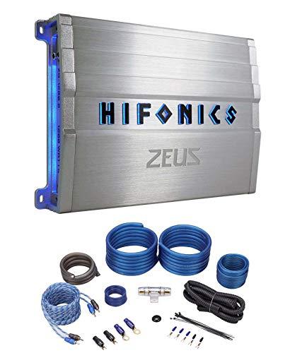 Hifonics ZG-1200.2 Zeus Gamma 1200 Watt Max Power Class A/B 2 Channel Car Audio Amplifier