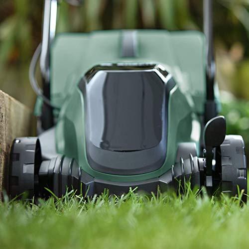 Bosch 06008B9A70 Cordless Lawnmower CityMower 18 (18 Volt, 1x battery 4.0 Ah, cutting width: 32 cm, lawns up to 300 m², in carton packaging)