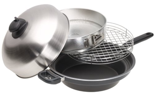Turbo Cooker 4-Piece Cooking System
