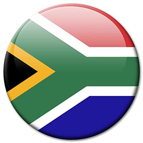 Kühlschrankmagnet Südafrika Flaggen Magnet Länder Reise Souvenir Flagge South Africa für Kühlschrank stark groß 50 mm