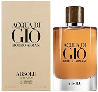 Gíórgío Ãrmání Acqua Di Gio Absolu for Men 4.2 Oz/125ml Eau De Parfum Spray