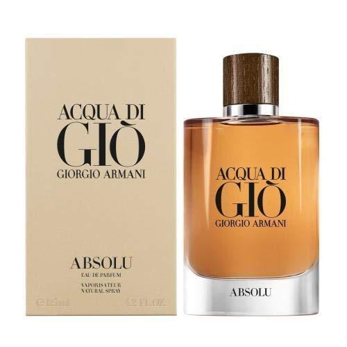 Giorgio Armani Acqua Di Gio Absolu for Men 4.2 Oz / 125 ml Eau De Parfum Spray