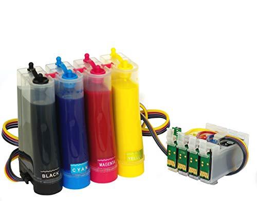 Compatible con Epson Workforce WF-7210DTW WF-7710DWF WF-7715DWF WF-7720DTWF + 400 ml Tinta