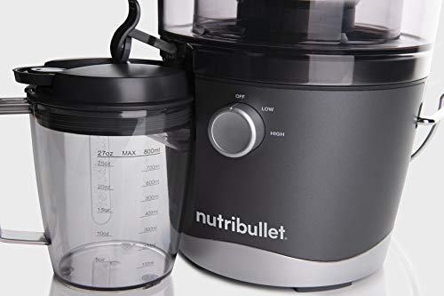 NutriBullet Juicer Centrifugal Juicer Machine for Fruit, Vegetables, and Food Prep, 27 Ounces/1.5 Liters, 800 Watts… |