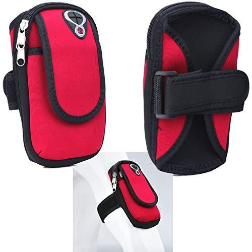 Supercase24 Sport Armband für Cubot Note 20 Pro Handy Hülle Tasche Schutzhülle Case Fitness Armtasche