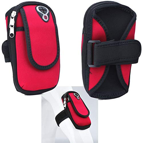 Supercase24 Sport Armband für Oukitel U22 Handy Hülle Tasche Schutzhülle Hülle Fitness Armtasche