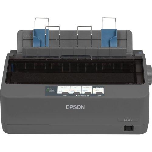 Epson C11CC24001 LX-350 Dot Matrix Printer - 9 pin - Up to 347 char/sec - Parallel/Serial/USB