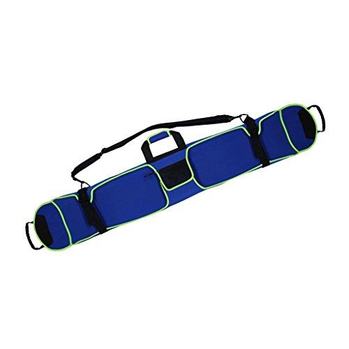 MagiDeal Sac de Planche à Neige Sachet à Bandoulière Anti-Rouille Sac De Transport 155cm - Bleu, Une épaule