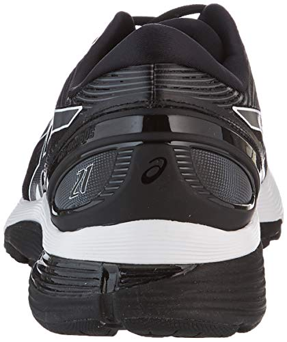 Asics Gel-Nimbus 21, Zapatillas de Running Hombre, Negro (Black/Dark Grey 001), 42 EU