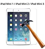 M.G.R.J® Tempered Glass Screen Protector for Apple iPad Mini/iPad Mini 2 / iPad Mini 3