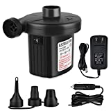 Feeke Electric Air Pump for Inflatables Airbed Mattress Pump Paddling Pools Toys Inflate Deflate Pump