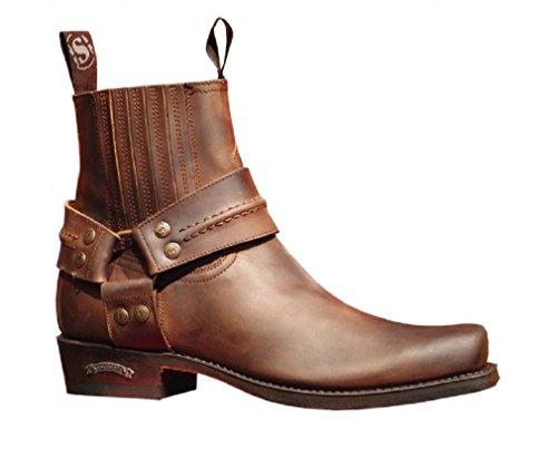 Sendra Boots 2746 braun Gr. 43 * incl. original Mosquito ® Stiefelknecht *