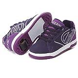 Heelys Propel 2.0 | Zapatillas con ruedas para niñas | Uva / Púrpura, 36.5 EU