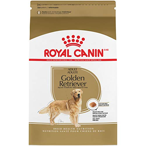 Royal Canin Golden Retriever Adult Breed Specific Dry Dog Food, 17 lb. bag