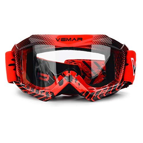Kids Teens Youth ATV Motorcycle Dirtbike Ski Snowboard Motocross Riding Goggles