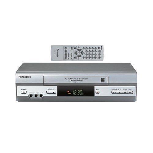 Panasonic PV-V4525S 4-Head VCR, Silver
