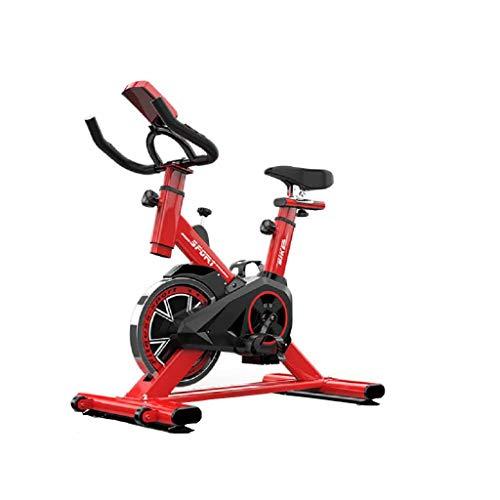 Cyclette Ciclismo Indoor Biciclette Fisse Per Biciclette, Con Resistenza Magnetica E Cintura Verticale Dritta Azionata Dalla Cintura, Ciclo Di Allenamento Aerobico E Fitness Equitazione Spin Bike Pe