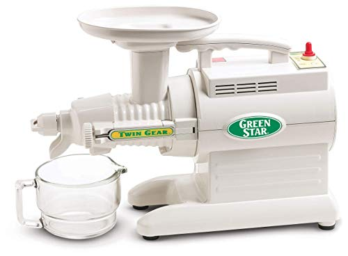 Tribest Green Star GS-3000 Deluxe Twin Gear Juice Extractor White, Standard