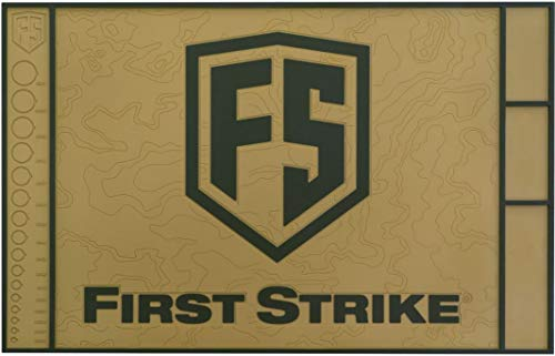 First Strike T15 Rubber Techmatte - tan/Oliv