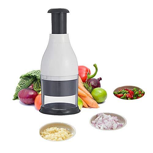HARVESTFLY Zerkleinerer Küche manuell | Universalzerkleinerer und Allesschneider | Multizerkleinerer für Obst und Gemüse | Idealer Küchenhelfer