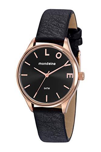 Relógio, Analógico, Mondaine, 76743LPMVRH2, Feminino, Rose Gold