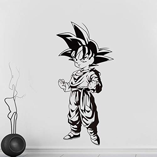 Tianpengyuanshuai cartoon kleine zon Goku vinyl stickers, wandtattoo, zelfklevend, anime, decoratie thuis, kinderen, kamer, kunst afneembaar