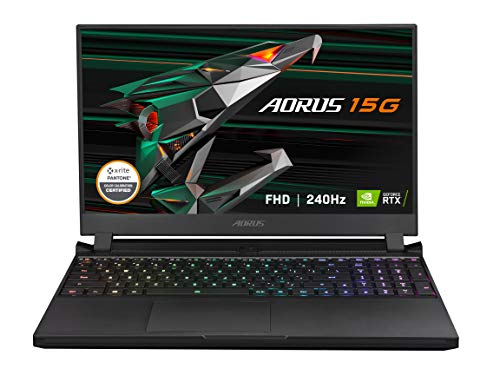 GIGABYTE AORUS 15G XC - 15.6' FHD IPS Anti-Glare 240Hz - Intel Core i7-10870H - NVIDIA GeForce RTX 3070 8GB GDDR6 - 32GB Memory - 512GB SSD - Win10 Home - Gaming Laptop (AORUS 15G XC-8US2430SH)