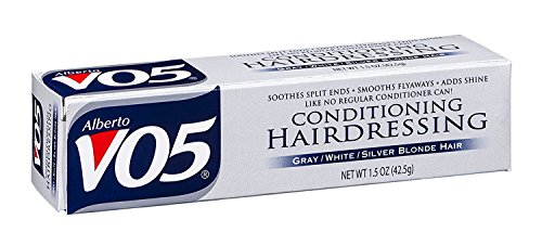 VO5 Conditioning Hairdressing Gray or White or Silver Blonde Hair, 1.5 Oz by Alberto VO5