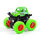 Monster Trucks, Toddler Pull Back Cars,Pull Back Cars for Kids, 360 Degree Rotation 4 Wheels Drive Durable Friction Powered Car