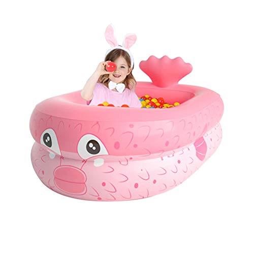 HOMHH Piscina gonfiabile per bambini a forma di cartone animato gonfiabile per bambini piscina sopra terra per esterni interni cortile