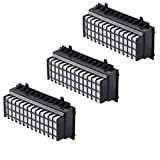 3er-Pack HEPA Filter für Bosch Staubsauger Relaxx'x BGS5SIL66A / BGS5SIL66B / BGS5SIL66C alternativ Filter 00577281, 00573928 von Microsafe