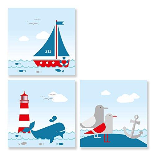 Set de photos Sailing Red