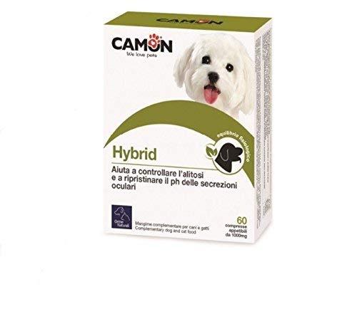 Orme Naturali Hybrid Care per Cani e Gatti, 60 Compresse Pulizia Occhi - 100 g