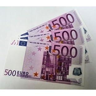 Geschenkartikel 'Euro' Replacement Full '125% 1Sided Play Money-Choice:Carsblog