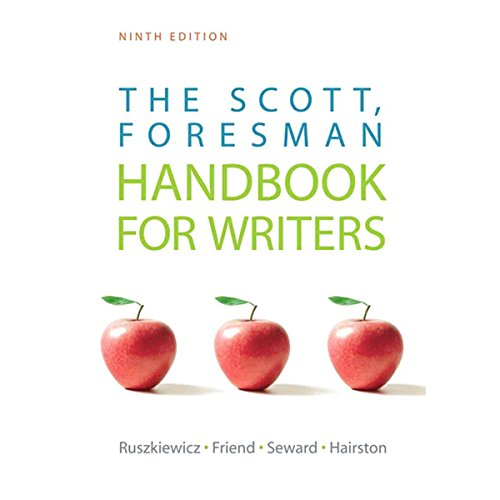VangoNotes for The Scott, Foresman Handbook for Writers, 9/e cover art
