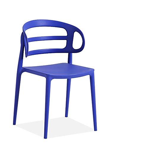GRF Kunststoffstuhl Erwachsene Mode Esszimmerstuhl Outdoor Freizeit Stuhl Trainingsstuhl