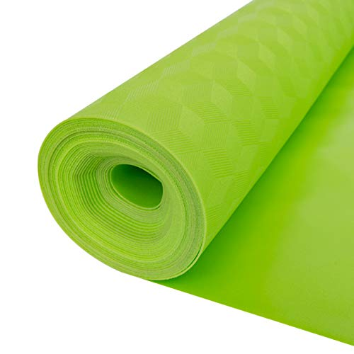 3in1 Vinyl Flooring Underlayment - High Density IXPE Vapor Barrier Padding - IIC 69 - Bestlaminate - 1mm - Green - 100 sf/roll