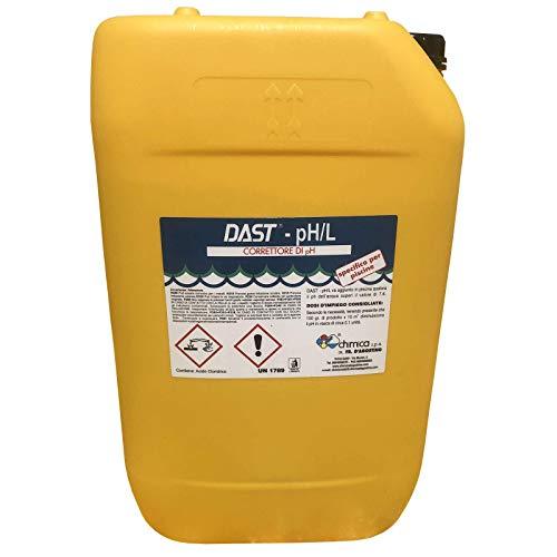 Chimica D'agostino kg 25 Correttore Riduttore PH - Meno Liquido Professionale per Piscine con Dosatron