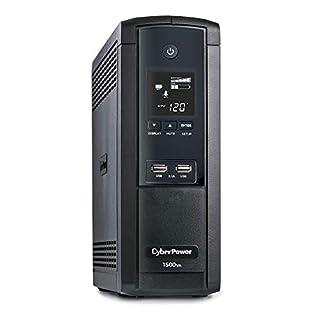 CyberPower BRG1500AVRLCD Intelligent LCD UPS System, 1500VA/900W, 12 Outlets, AVR, Mini-Tower, 5-Year Warranty,Black (B00LEFYISA) | Amazon price tracker / tracking, Amazon price history charts, Amazon price watches, Amazon price drop alerts