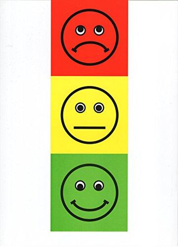 Póster de luz de tráfico – Recurso para profesores – Feelings/Emotions Early Years Resource – Escribir y borrar – 70 cm x 23 cm