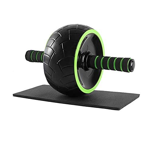 Dispositivos de entrenamiento de fuerza AB Conjunto de rodillos de rueda con barras de empuje Discos de deslizamiento de la cuerda de salto Ejercitor de mano Pad Home Gym Gym Equipo de entrenamiento p