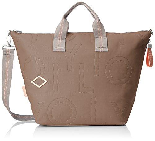 Oilily Damen Spell Handbag Lhz Henkeltasche, Beige (Taupe), 18x33x51 cm