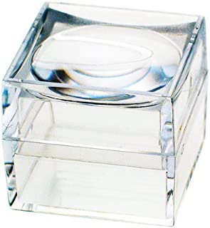 Magni Box The, Pack of Nine Size 25 Mm Acrylic Magnifying Magnifier Boxes.