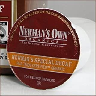 Newman's Own Organics -- SPECIAL DECAF COFFEE -- 48 K-Cups for Keurig Brewering Systems